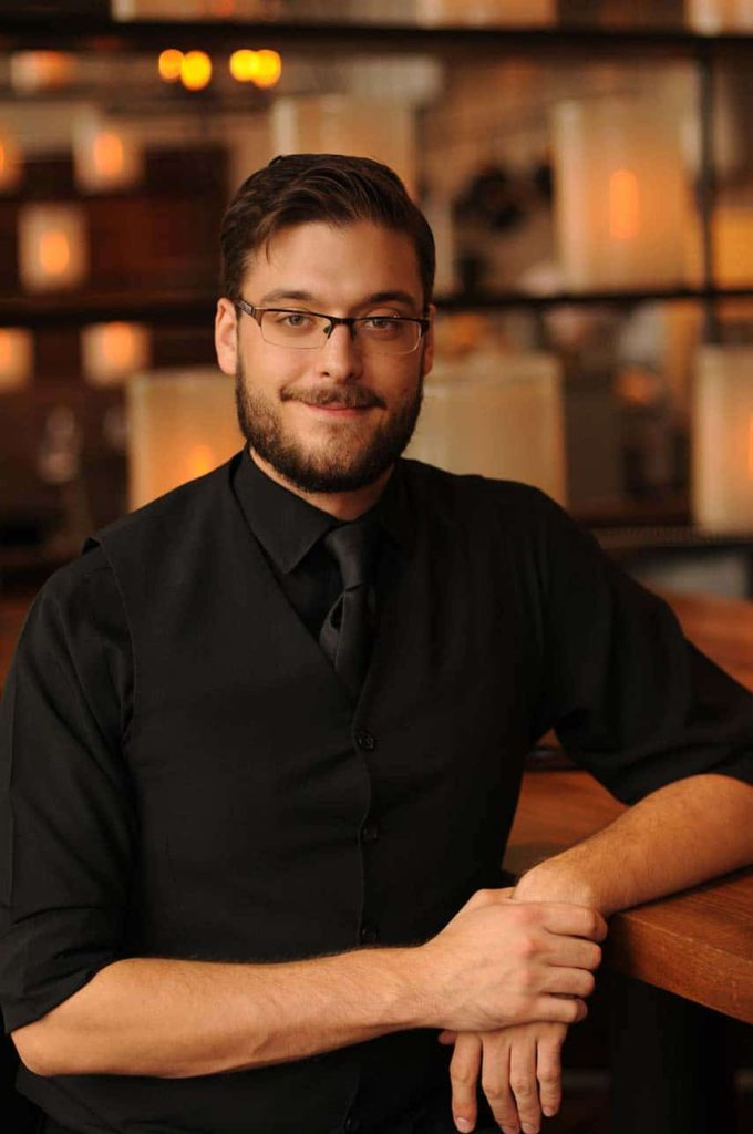 Bartender portrait